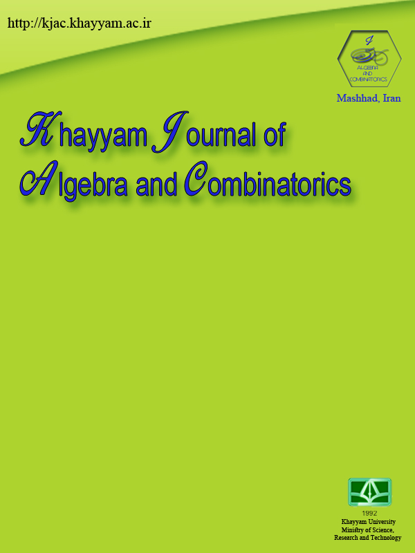Khayyam Journal of Algebra and Combinatorics